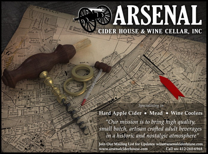 Arsenal Cider House & Wine Cellar, Inc