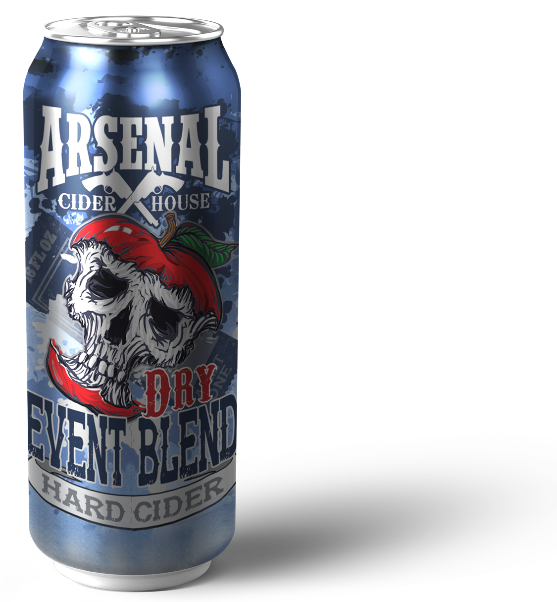 Event Blend Off-Dry Hard Cider by Arsenal Cider House Can