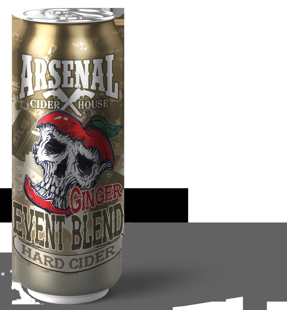 Event Blend Ginger Hard Cider Can